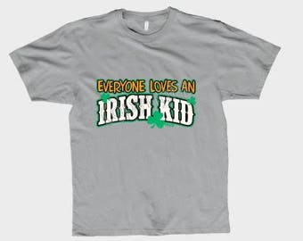 Everyone loves an Irish kid T shirt