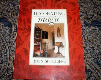Vintage Faux Finishing Book Decorating Magic Instructional Design Techniques English Home Decor