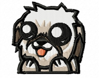 """2"""" Adorable Dog Patch (A)"""