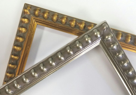 8 x 10 - 12 x 16 Beaded gold, silver picture frames, photo frames ...