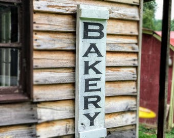Wooden Bakery Sign , Bakery Wood Sign , Rustic Bakery Sign , Bakery Sign for Kitchen , Wood Bakery Sign , Rustic Wall Art
