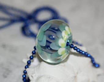 Lampwork beads, glass beads, artist beads, big beads, handmade glass beads,