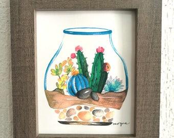 Terrarium Watercolor
