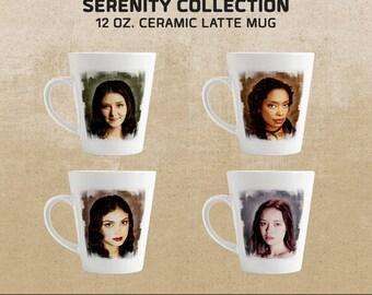 Women of the Serenity: Firefly-inspired Latte Mug