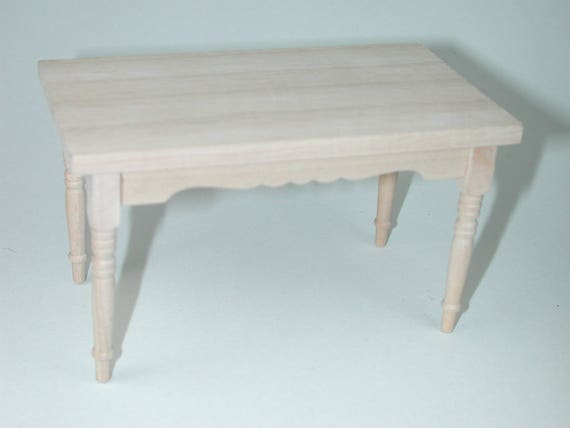 Kitchen table, for the Dollhouse, the doll house, Dollhouse miniatures, cribs, miniatures, model making # v 22002