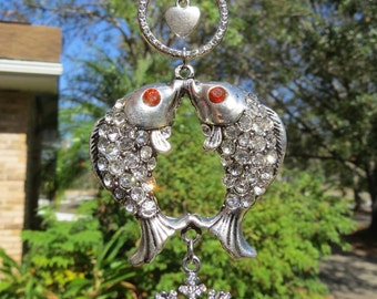 A FISH TALE Tree Jewelry Christmas Ornament Sparkling
