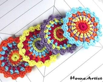 Crochet Applique  free choice of colour