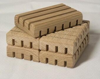 White Oak Soap Rests (set of 5)