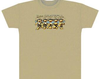 Grateful Dead T-shirt- Bee Grateful T-shirt/ Dancing Bears/