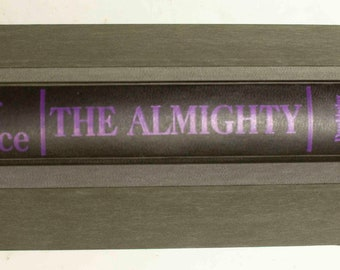 The Almighty by Irving Wallace - Fiction, Thriller, Suspense