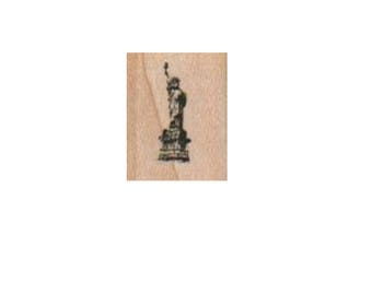 Small Statue Of Liberty Small  rubber stamp number 3718 unmounted, cling stamp, wood mounted stamps scrapbooking