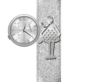 Camelia Hand Bracelet Watch