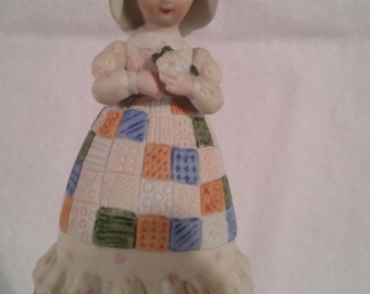 Holly hobbie bell,collectible, mother's Remembrance, limited edition, vintage
