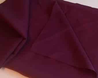 Vintage Wine Gabardine Fabric