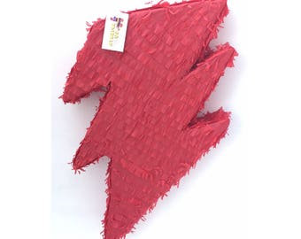 Lightning Bolt Pinata Available in any Color