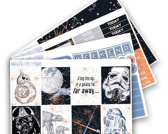 Far, Far Away Collection - Mini Kit | Planner Stickers for Erin Condren Vertical Life Planner