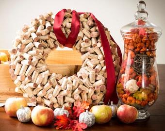 Handmade Cork Wreath