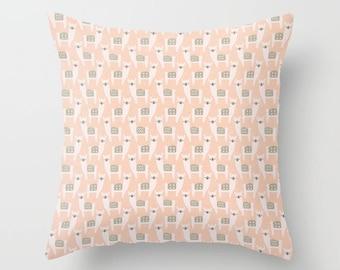 Alpaca Pillow cover Hiker's Pillow Cover Decorative Pillow Cover RV Pillow Llama Pillow Color Choices