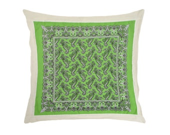 Mexican bandana pillow