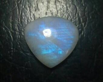 Rainbow Moonstone Heart Shape Cabochon