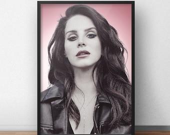 Lana Del Rey Framed Art Print