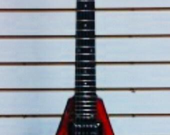 Magadeth Flying V Electric Guitar