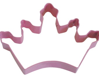 PINK Crown Tiara 5'' Cookie Cutter
