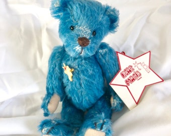 Raspberry, artist bear, Bear Magic, collectible bear, mohair.