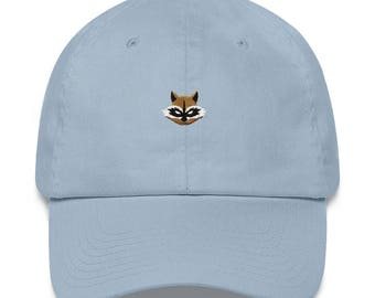 Rocket Raccoon Hat - Rocket Raccoon - Rocket Raccoon Dad Hat - Rocket Raccoon Mask - Rocket Raccoon Cosplay - Guardians of the Galaxy