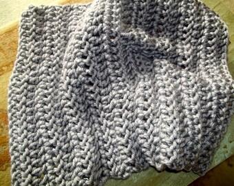 Chunky Gray Baby  Blanket Newborn Baby Photography Prop  Blankets Photo Prop  Basket Filler Basket Stuffer