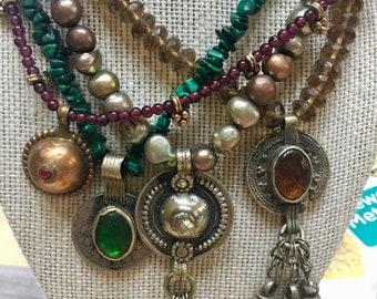 Tibetan Drama necklace