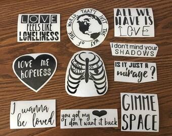 Evolution Inspired Stickers
