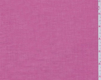 Rose Pink Cotton Lawn, Fabric By The Yard