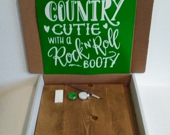 Country Cutie With a Rock n Roll Booty Kreative Kit