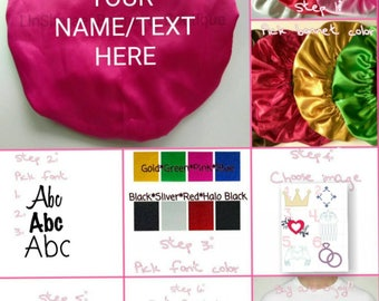 Create A Custom LinSharae Satin Bonnet