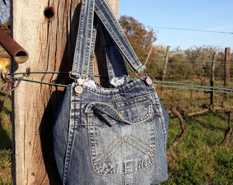 Little overall tote bag
