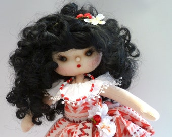 Doll Fabric Lupe