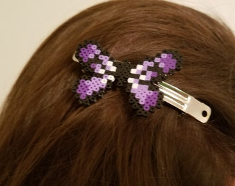 Mini Butterfly Bead Hair Bow