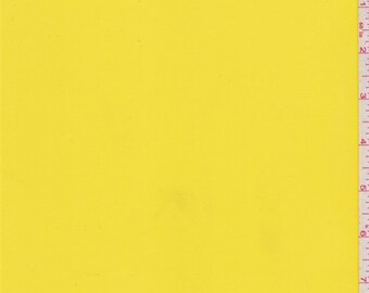 Bright Yellow Lining, Fabric By The Yard