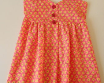 Girl dress - size 4 years