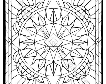 Coloring Page (Directional)