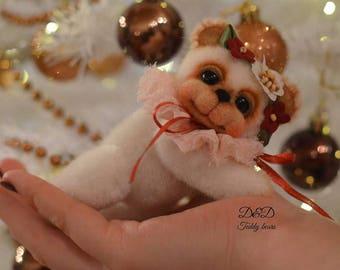 Cute teddy bear Handmade collectible Traditional teddy bears Artist Classic teddy bears Artist teddy bear