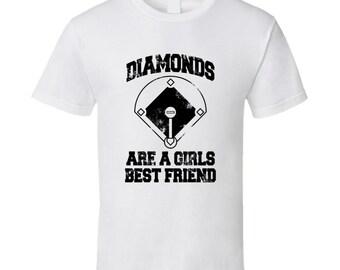 Diamonds Are A Girls Best Friend T Shirt