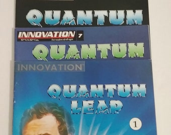 Comic Books- Quantum Leap, Set of 3