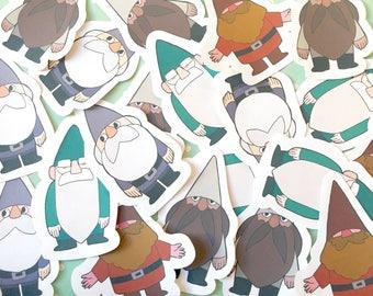 Gnome Stickers Set