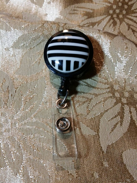 Vintage Retractable Badge Holder