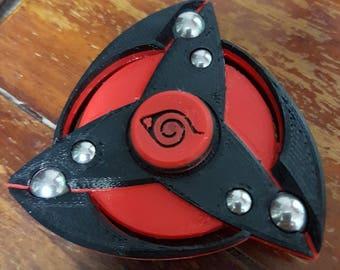 Kakashi Mangekyou Sharingan Inspired Tri Fidget Spinner