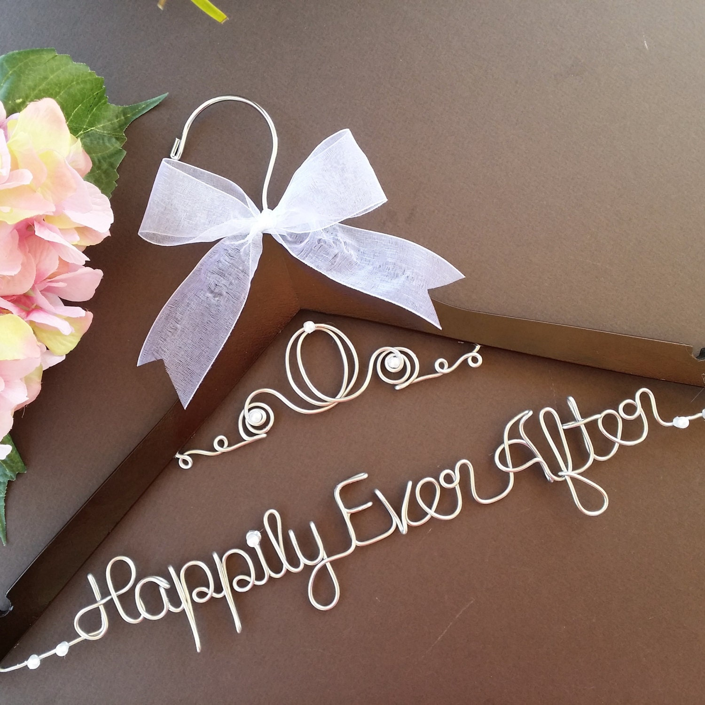 Surprise Sale Personalized Bridal Wedding Hanger Bridal