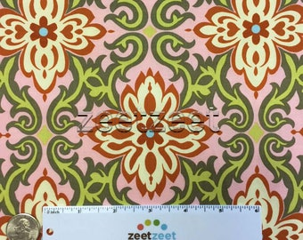 TEMPLE GARLAND PINK Amy Butler Quilt Fabric - by the Yard, Half Yard, or Fat Quarter Fq - Ab20 Out of Print