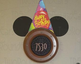 DCL Stateroom Door Porthole Ears - Birthday